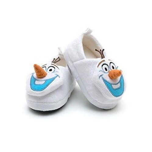 Size 8-13 Frozen Children 3D Slippers Olaf Slipper Boots Frozen Slippers