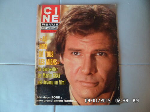 CINE REVUE N°43 27/10/1983 HARRISON FORD LINDA EVANS GENEVIEVE PAGE G94