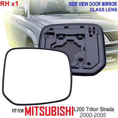 2005–2015 Mitsubishi L200 Triton Strada side view door mirror glass lens left