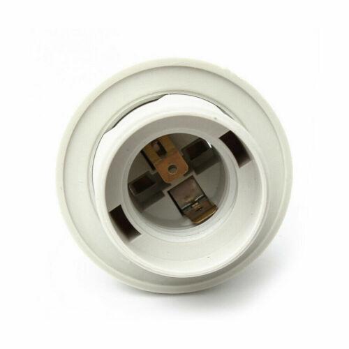Tissu Câble Flex Plug en pendentif lampe Set de montage Vintage B22 E27 Support