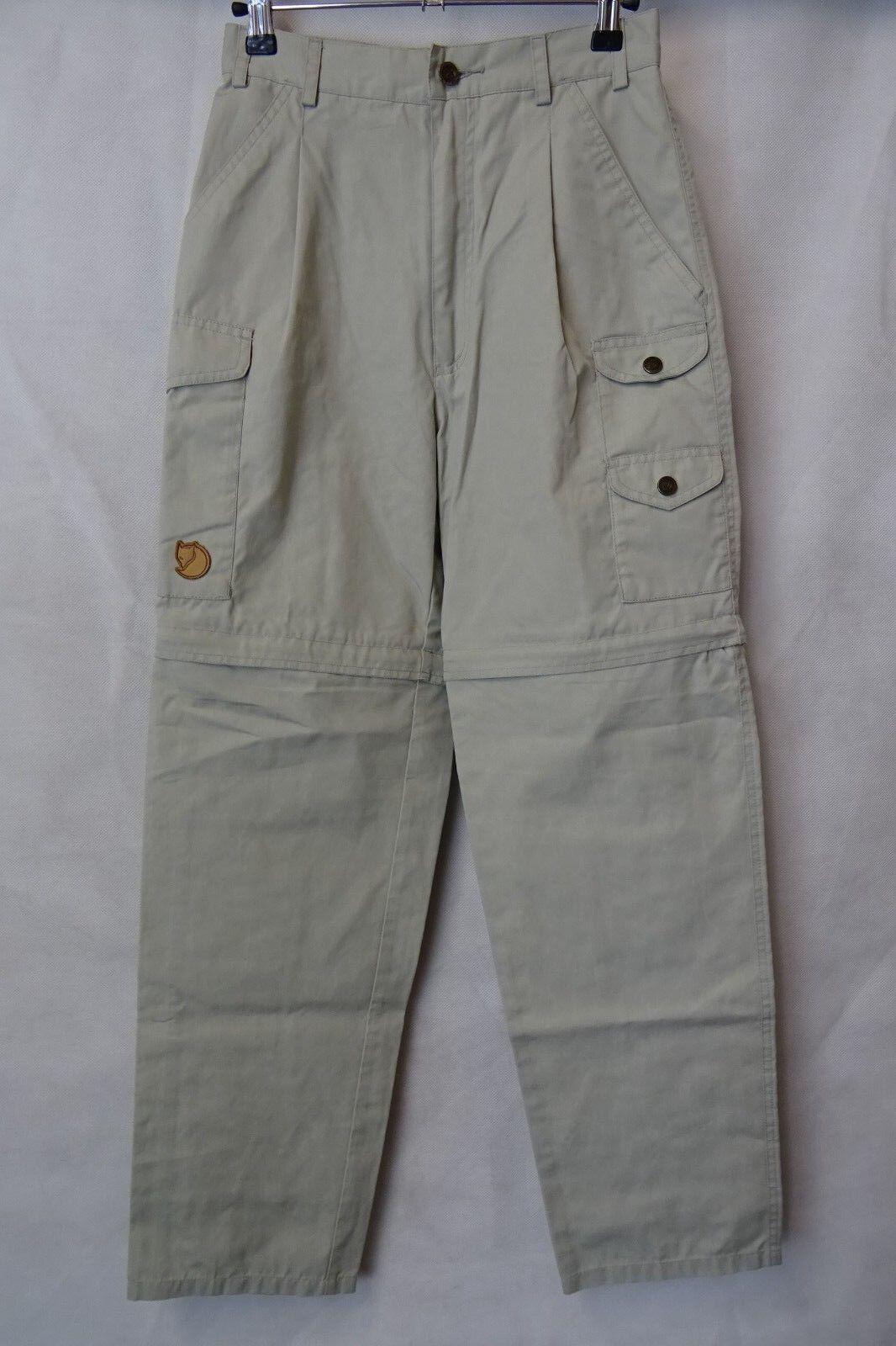Women's Fjallraven Karla G-1000 Outdoor Trousers Trekking Size 6 (XXS) AA2678