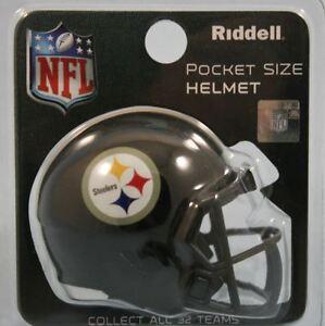 c057266fdff Image is loading PITTSBURGH-STEELERS-NFL-RIDDELL-MINI-SPEED-POCKET-PRO-
