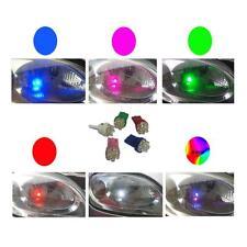 1 PAIO DISCO 6 LAMPADINE LED LUCE LATERALE 501 W5W T10 VENDITORE UK RAPIDO