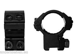 Hawke-Ringmontage-25-4mm-fur-11mm-Schiene-niedrig