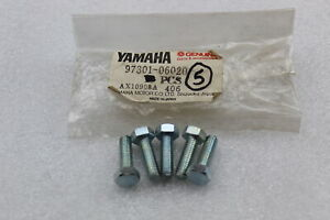BOLT HEXAGON Brand New OEM Bolt Yamaha 97017-06025-00