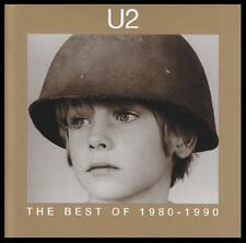 U2 - BEST OF 1980-1990 CD ~ 80's BONO ~ PRIDE~WITH OR WITHOUT YOU~DESIRE + *NEW*