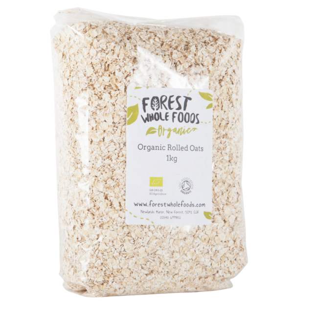 Forest Whole Foods - Organic Rolled Porridge Oats 10kg ( UK Delivery)