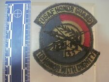 COLD WAR ERA MILITARY  PATCH  SUBDUED OD USAF HONOR GUARD