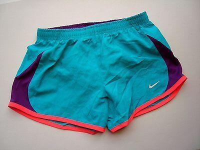 cfe27508b962d NIKE Girl's (Youth) Aqua Blue 5K Tempo Running Shorts Style #716734 ...
