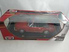 1964 1/2 Ford Mustang Red 1:18 Motor Max