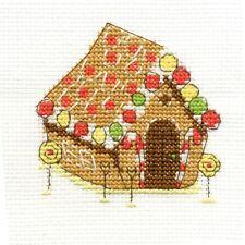 DMC CROSS STITCH KIT-DOLCI TENTAZIONI-GINGERBREAD HOUSE