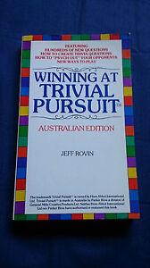 Vintage-Book-WINNING-AT-TRIVIAL-PURSUIT-Australian-Edition-JEFF-ROVIN