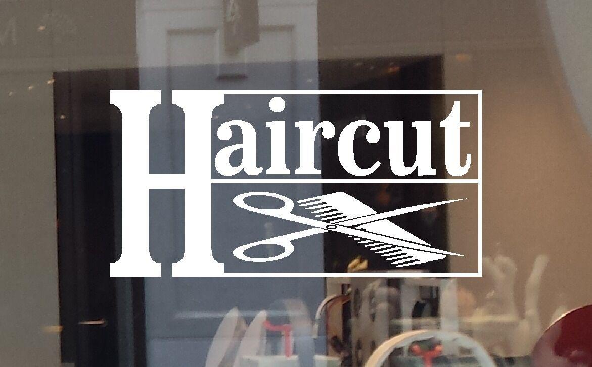 Open Hair Salon Door Sign Barber Led Window Display