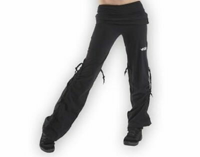 Plume Cotton Stretch Dance Trousers BLACK All Sizes  BNWT