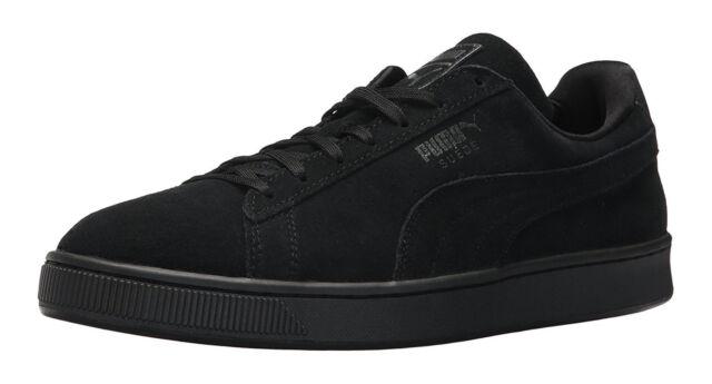 2d662d5f44224 PUMA Suede Classic Black Anodized Mens Sneakers Tennis Shoes Item 363872 03
