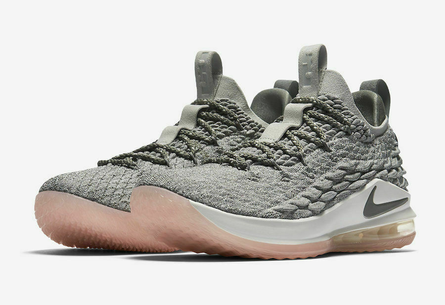 Nike Lebron Lebron Lebron XV Low Mens Size 10.5 Basketball shoes AO1755 003 Light Bone cbba9e