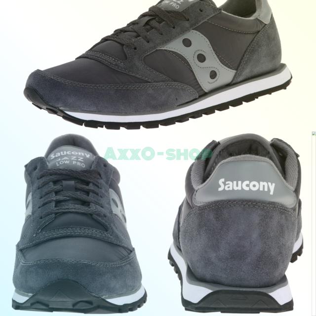 hot sales 30f99 6b80c Saucony Originals Mens Jazz Low Pro Sneaker Charcoal/grey 9.5 M US