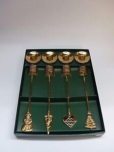 Georg Kerzenhalter georg advents kerzenhalter set 4 tlg gold 3406916 ohne ovp