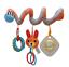 miniature 7 - Bebe-activite-spirale-Hanging-jouet-poussette-landau-poussette-Literie-Siege-Voiture-Bebe-UK