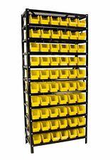 Steel Dragon Tools 60 Bin Parts Rack Storage Shop Organizer Nuts Bolts Parts
