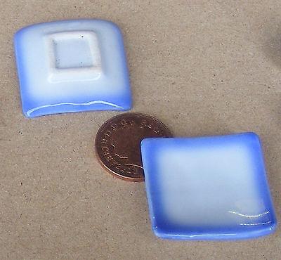 1:12 Scala 2 Blue & White Piatti Casa Delle Bambole Accessorio In Miniatura In Ceramica B26-mostra Il Titolo Originale Una Grande Varietà Di Modelli