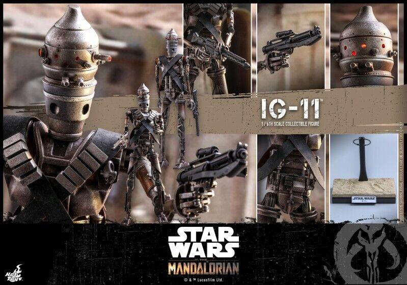 Hot Juguetes 1 6 TMS008 Estrella Wars The Mandalorian IG-11 Robot Figura Colección
