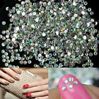 1000x Nail Art Tips Bling Crystal Glitter Rhinestone Manicure Decoration 2mm New