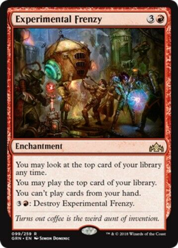 English Guilds of Ravnica MTG Magic 4x Experimental Frenzy NM-Mint
