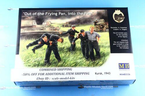 GERMAN TANK CREW 5 FIGURES 1//35 MASTER BOX 3536 DE