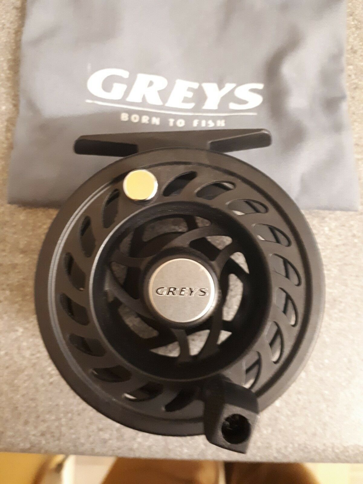 Greys Gla 80 Fly Reel Sealed Drag With Pouch V G Condition