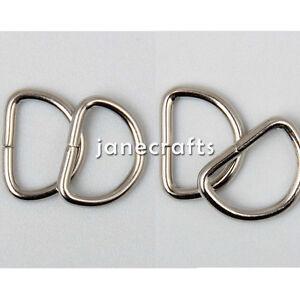 100pcs wholesale 3 8 quot 1 2 quot metal d ring ring webbing