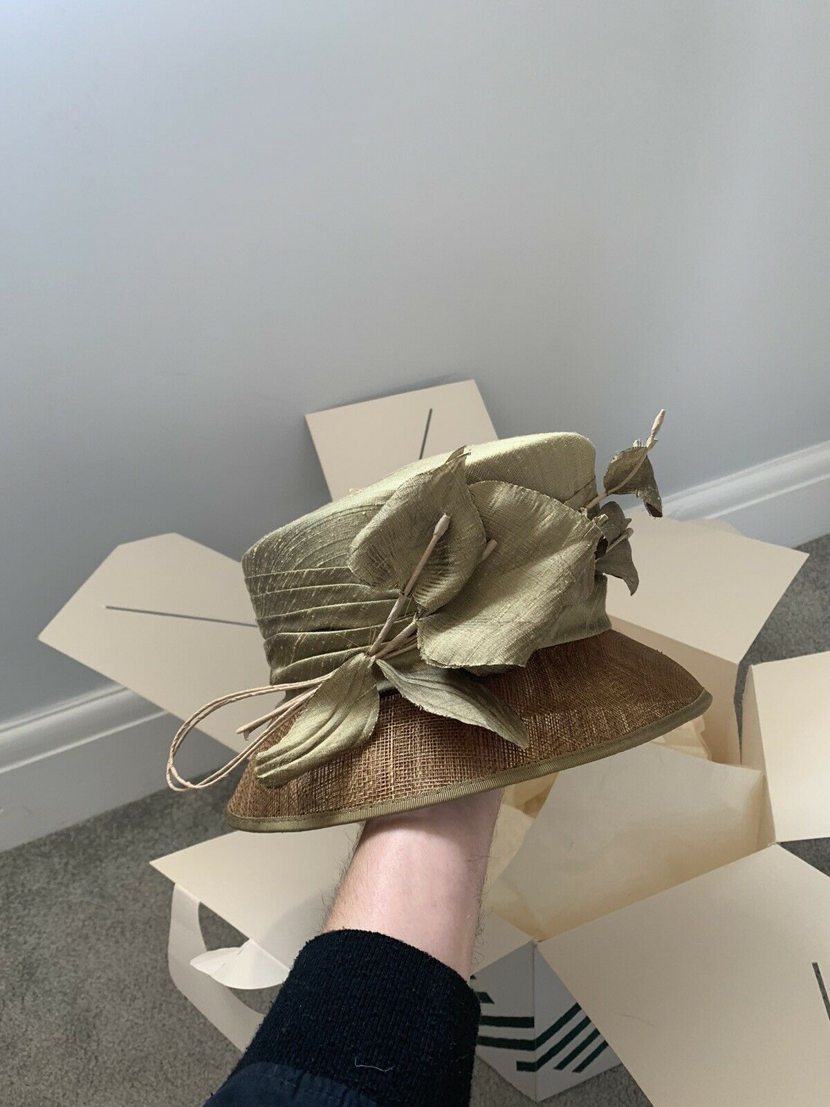 John Lewis / Walter Wight Wedding Hat / day at the races ladies womans