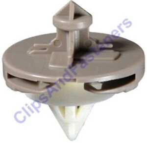 Clipsandfasteners Inc 25 Door Panel Clips Compatible with Toyota Pick-Up