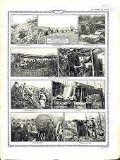 Poilus Bataille d'Artois Vermelles Aix-Noulette Notre-Dame de Lorette 1915 WWI