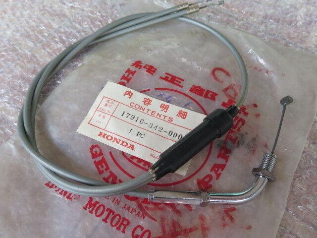 HONDA NOS  CR250 1981-1983 CABLE THROTTLE  17910-KA4-000    BLK1