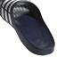Adidas-Duramo-Mens-Slides-Flip-Flops-Pool-Beach-Slippers-Black-Navy-Blue-Stripes miniatura 15