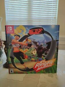 Ring Fit Adventure game - Nintendo Switch - Lightly used!