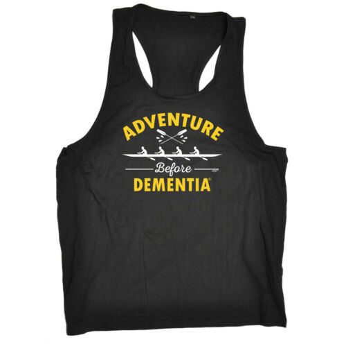 Dementia Row Funny Novelty Mens Vest Singlet Tank Top
