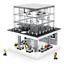 Sembo-Blocksteine-Store-Beleuchtung-USB-Gebaeude-Figur-Spielzeug-Modell-Kinder Indexbild 1