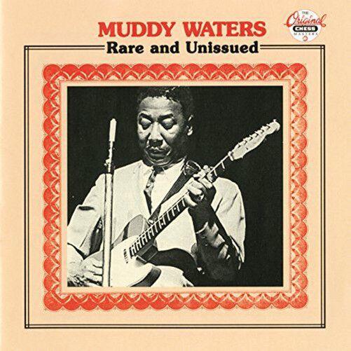 MUDDY WATERS - Rare And Uniss - CD csae cracked