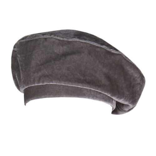 Women Casual Flat Hat French Fashion Velvet Beanie Beret Cap Vintage Gifts