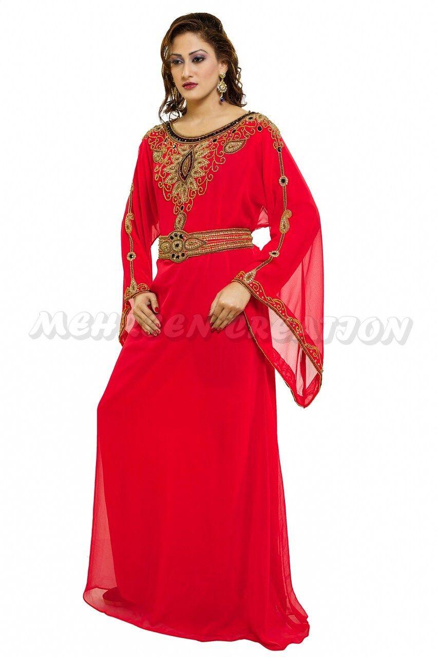 ELEGANT MODERN FANCY FARASHA CAFTAN WEDDING WEDDING WEDDING GOWN FANCY JILBAB DRESS 1026 6ed009
