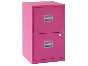 Image Is Loading Bisley Filing Cabinet 039 Funky Fuschia Pink
