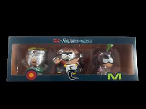 South Park le fratture ma Interi Confezione da 3 figura il professor Caos Coon Mysterion