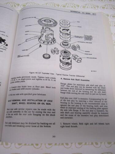1972 Buick Shop ManualCenturionElectraEstate WagonGSLeSabre