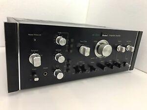 SANSUI-AU-11000-Integrated-Stereo-Amplifier-220-Watts-RMS-Vintage-1975-Like-New