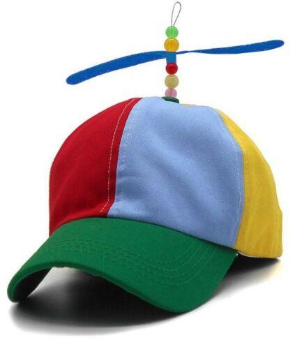 Kids Tweedle Dum Tweedle Dee Hat Propeller Beanie Ball Helicopter Cap Book Week
