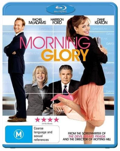 1 of 1 - Morning Glory - Blu-Ray Region B Like New Free Postage