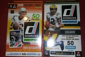 2016-amp-18-PANINI-Donruss-Football-50-Card-Hanger-Box-Lot-Chase-Dak-Allen-Wentz-Rc