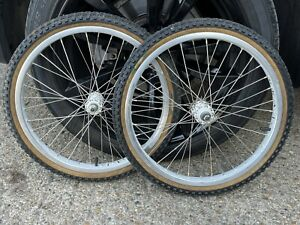 old school bmx Ukai Speedline Wheel Set Suzue Original Mitsuboshi Tyres